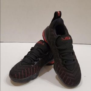 Nike Lebron XVI 16 Fresh Bred GS AQ2465-002 Sz 13c